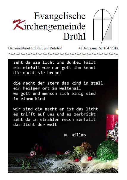 Gemeindebrief 42 Jahrgang nr 104 2018