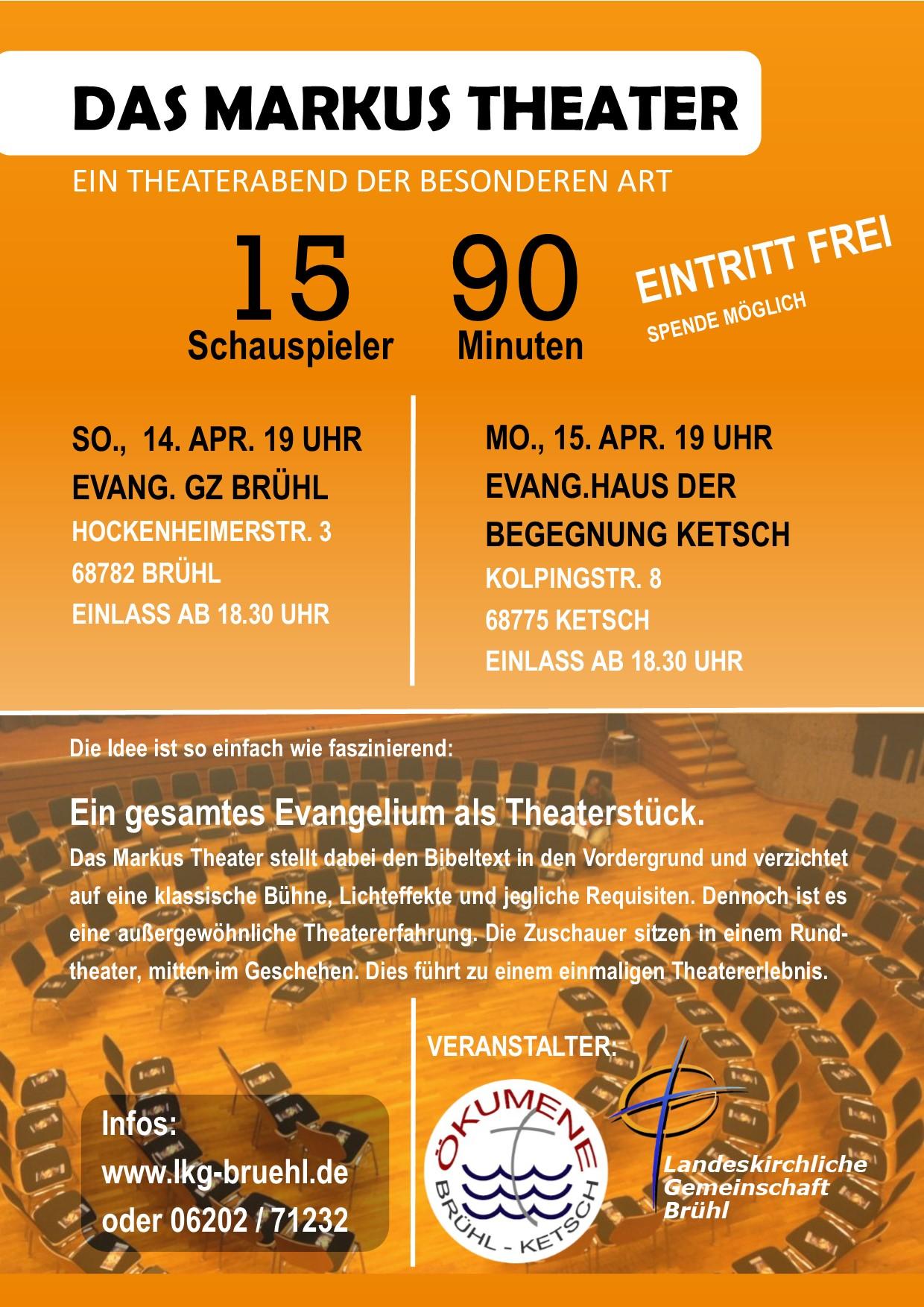 Das Markustheater_Poster DinA3
